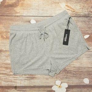 Bebe sport Bling back logo shorts